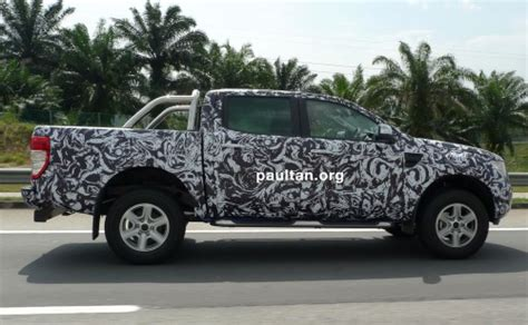 Stiker Camo Camouflage 309 new ford ranger in camouflage spotted it s coming soon