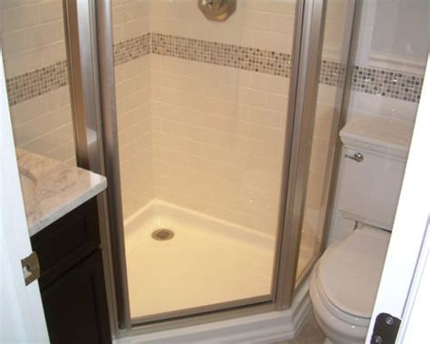 corner shower small bathroom small corner shower houzz