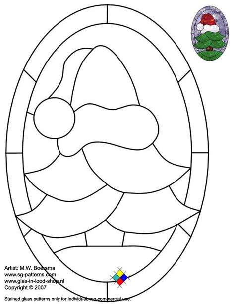 stained glass christmas patterns printables