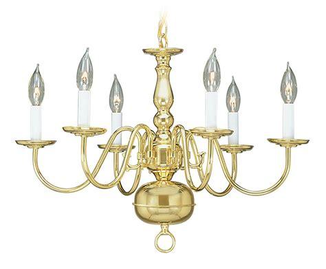 Cheap Brass Chandelier 6l Polished Brass Chandelier Discount Lighting Livex Light Williamsburg 5006 02 Ebay