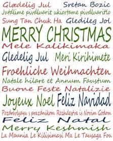 International christmas wishes