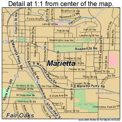 Records Marietta Ga Marietta Map 1349756