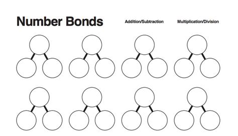 number bond template worksheet number bond worksheets hunterhq free