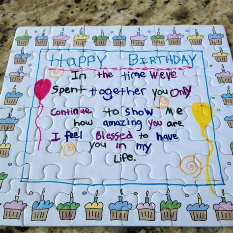 birthday gifts for crossword puzzle book gift as birthday gifts for boyfriend or husband books puzzle birthday card my boyfriend made for me so adorable