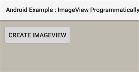 android layout width fill parent programmatically how to create an imageview programmatically in android