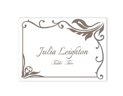 template to print wedding place cards place cards wedding place card template diy editable