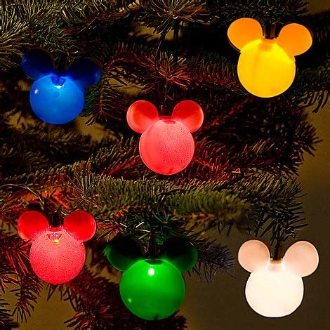 mickey mouse string lights your wdw store disney mickey ears lights