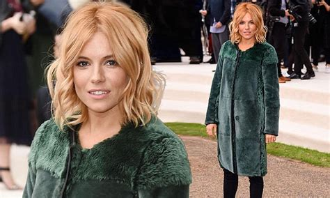Two New Blogs With Style Aisledash And Greendaily by Miller In A Fur Coat For Burberry Prorsum