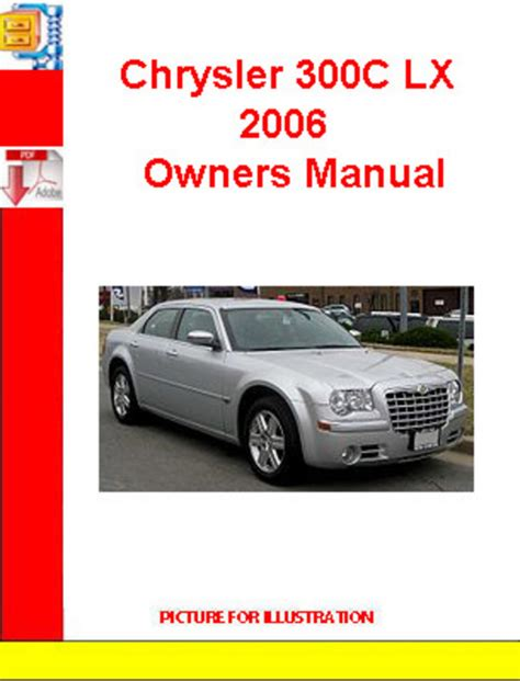 service manual 2006 chrysler 300 repair manual free download chrysler tp cruiser 2006 2007