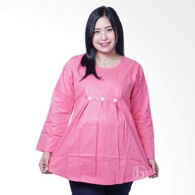 Baju Anak Lengan Panjang Branded Ruffle Top Pink Flower jual sj 359 devi baju blouse ibu pink harga kualitas terjamin