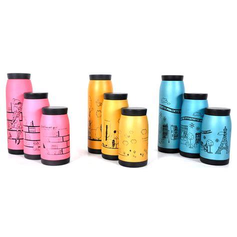 Termos Lukisan Anak botol minum termos motif lukisan anak 350ml thermos yellow jakartanotebook