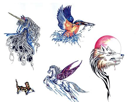 tattoo ideas unicorn unicorn bird wolf designs 187 ideas