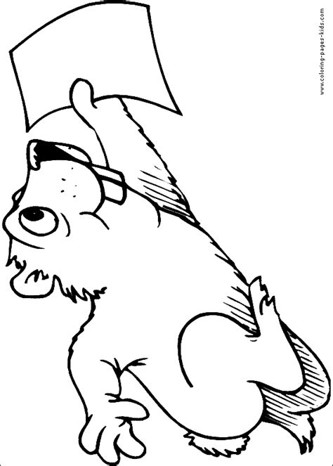 Groundhog Shadow Coloring Page by Groundhog With Shadow Sheets Coloring Pages