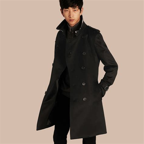 In Coat by Trench Coat In Black Burberry United States