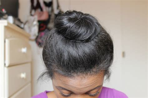 hairstyles buns messy for black messy bun for short medium hair without a hair donut