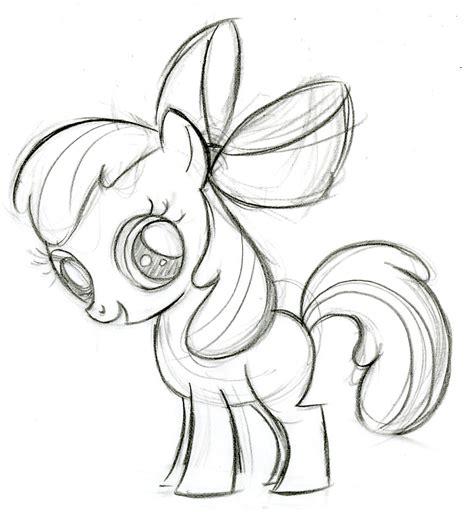 colour my sketchbook bloom apple bloom my little pony friendship is magic wiki