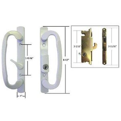 stb sliding glass patio door handle set with mortise lock