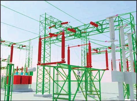 layout of grid substation case study epc company designs substations 40 percent