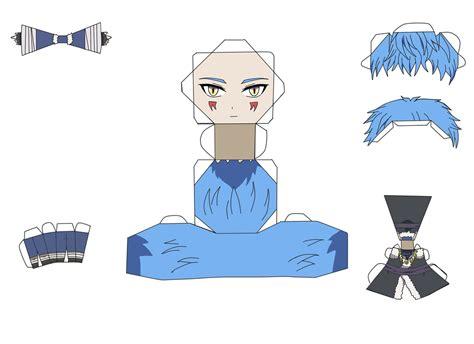 No Papercraft - shin ah papercraft by darkdragonlightwolf on deviantart