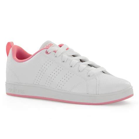 Adidas Neo Advantance White Padding Pink adidas neo juniors advantage clean 417 trainers white