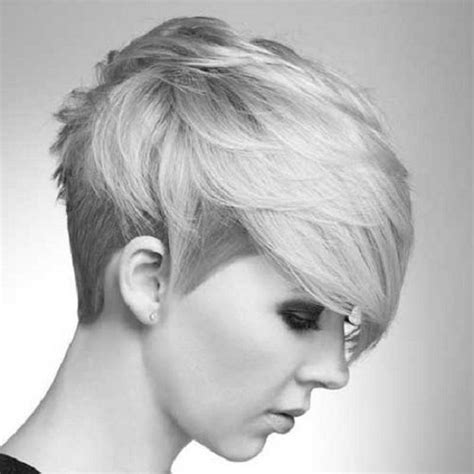short piecey haircuts for women short hairstyles for thick hair side view women