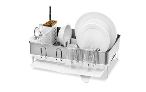 Simplehuman Dish Drying Rack by 1000 Images About Dish Drying Rack On Dish