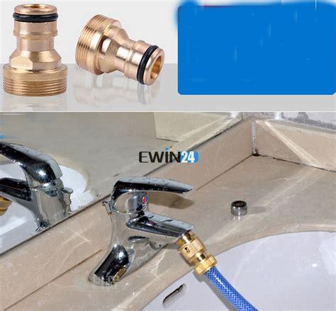 Kitchen Faucet To Garden Hose Adapter 10x universal car garden hose faucet connector adapter