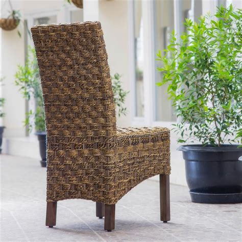Abaca Dining Chairs Woven Abaca Dining Chair Sg 3308 1ch