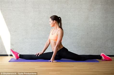 reclining splits can you get fit for the splits in just four weeks daily