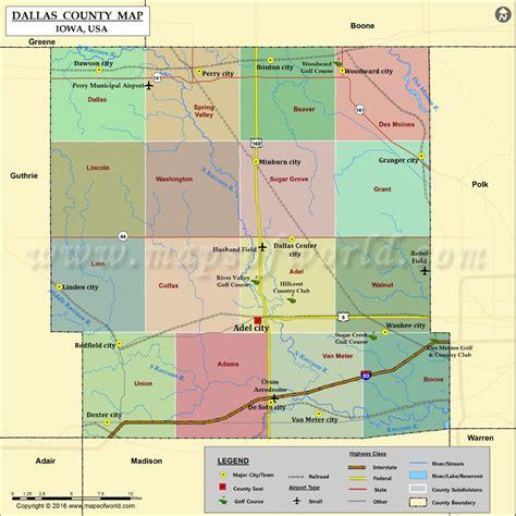 dallas county map dallas county map iowa