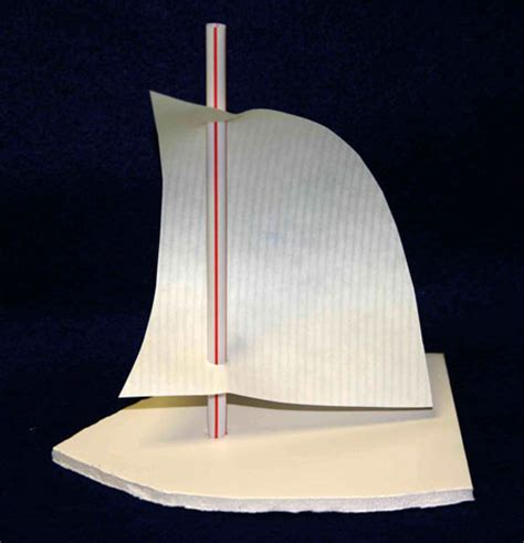 sailboat out of paper funezcrafts easy paper crafts sailboat