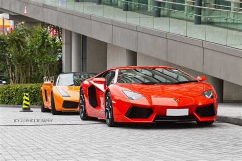 Gumpert Apollo Vs Lamborghini Aventador by Supercar Meet In Hong Kong Agera S Apollo Zonda F