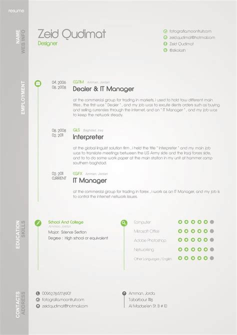 17 images about infographic resume exles on