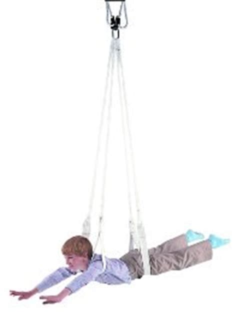 indoor therapy swing standard dual indoor occupational therapy sensory swing