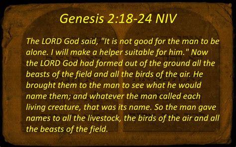 book of genesis 2 18 24 110904 the big ten 08 of weddings and beddings