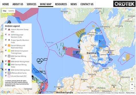 map uk wind farms expanding mine map helps spot danger at wind farm