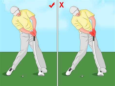 swing golf 4 232 res de faire un swing au golf wikihow