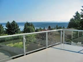 residential glass railing gallery glass railing ideas