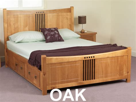 king size bed frame with drawers underneath sweet dreams curlew king size pine bed frame wild cherry