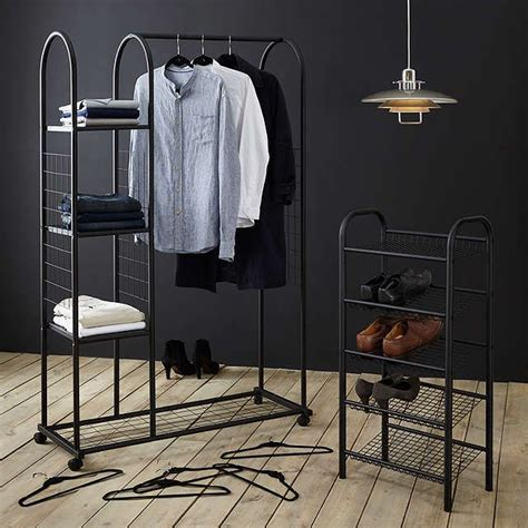 Lewis Clothes Rack by 17 Best Ideas About Clothes Rail On Wardrobe