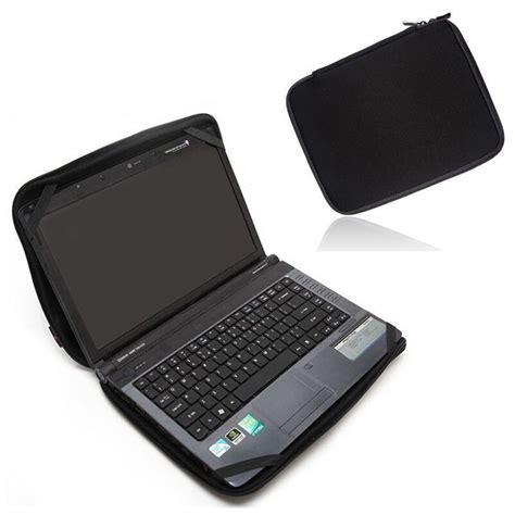 Terlaris Sarung Hp Waterproof 4 solid black laptop notebook sleeve bag waterproof neoprene with 4 strps for 10 quot 12 quot 13 quot 14
