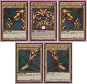 yugioh edition card template yu gi oh complete exodia the forbidden one 5 cards 1st