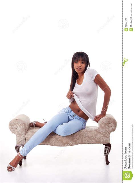Black Mix Ethnic ethnic seductive stock photo image of