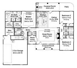 Delightful House Plans Single Story 2000 Sq Ft #8: HGA052-LVL1-LI-BL-LG.GIF