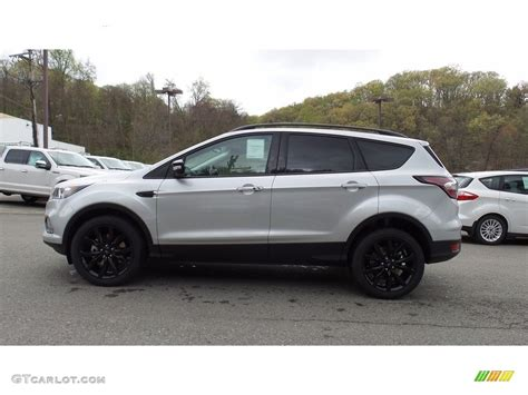 ford 2017 silver 2017 ford escape silver 200 interior and exterior images