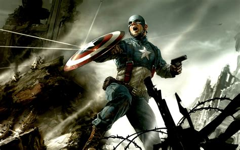 wallpaper captain america hd captain america cg wallpapers hd wallpapers id 10273