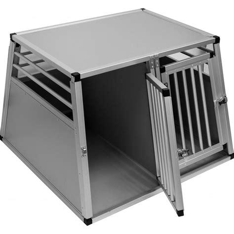 aluminium 2 door crate large from splendid pets uk
