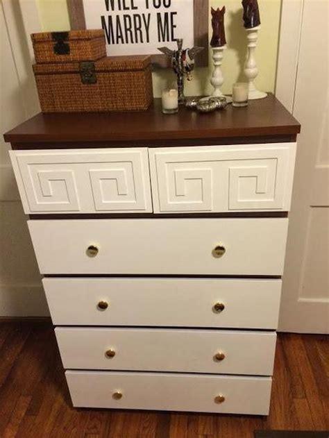 ikea hack malm dresser hack job ikea hacking the malm six drawer dresser and o