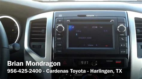 Cardenas Toyota 2013 Toyota Tacoma Bluetooth Pairing