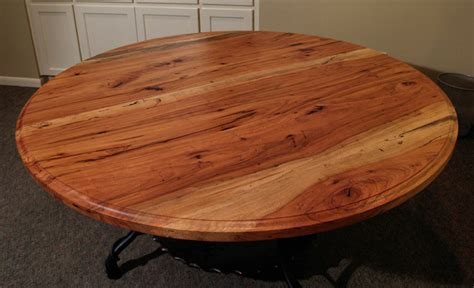 devos woodworking spalted pecan dining table by devos custom woodworking